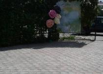 Оформление свадьбы на летней площадке